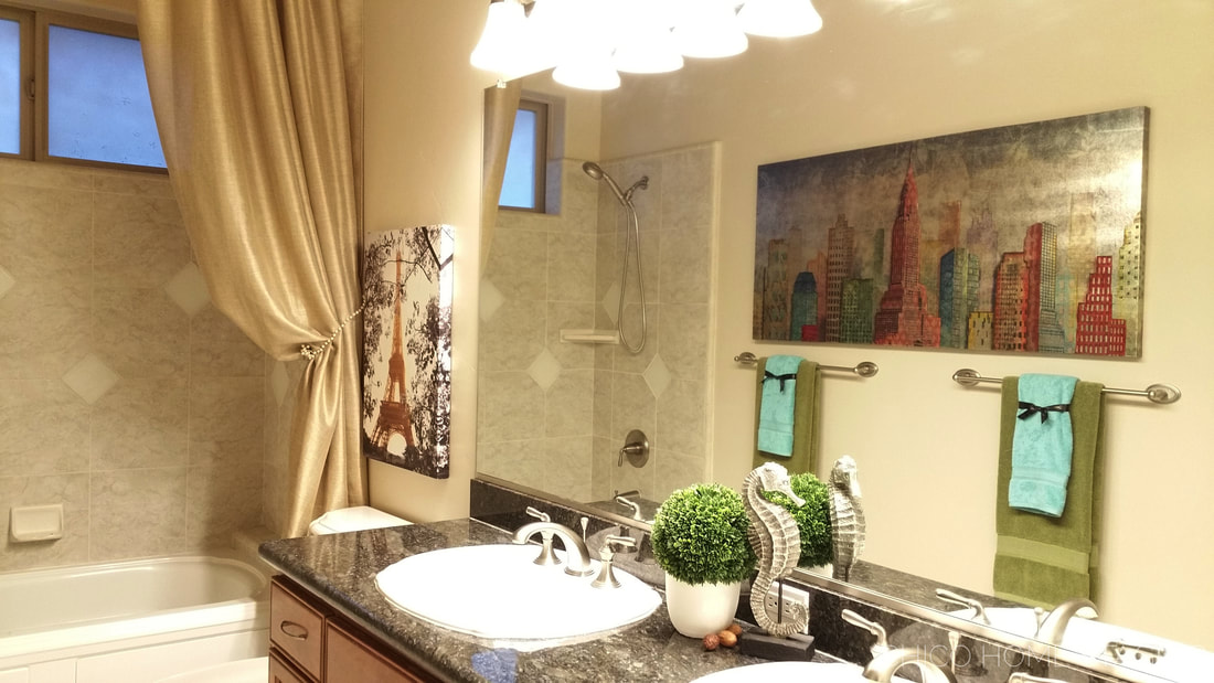 Chico Home Staging Bathroom