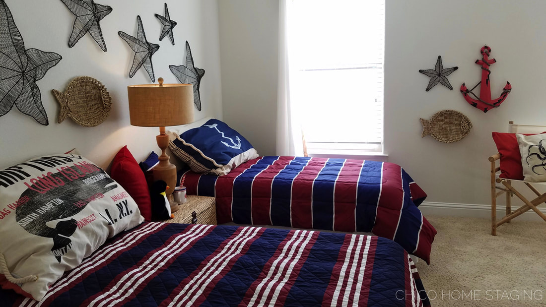 Chico Home Staging Boys Bedroom Nautical