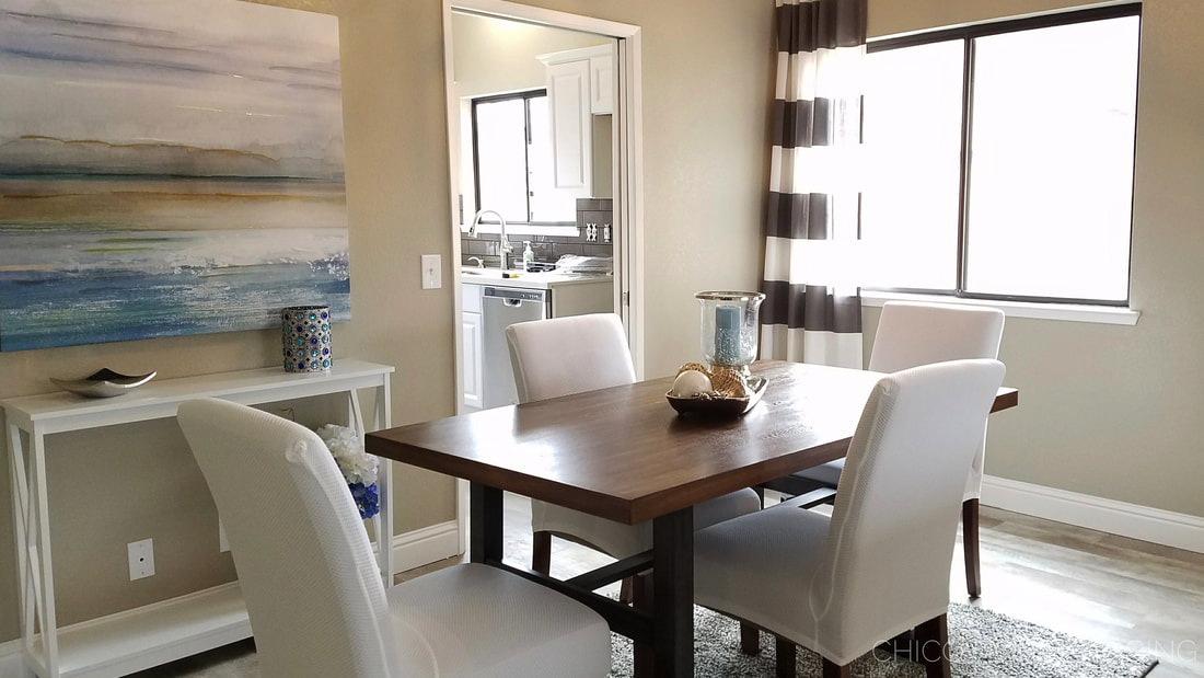 Chico Home Staging Dining Room
