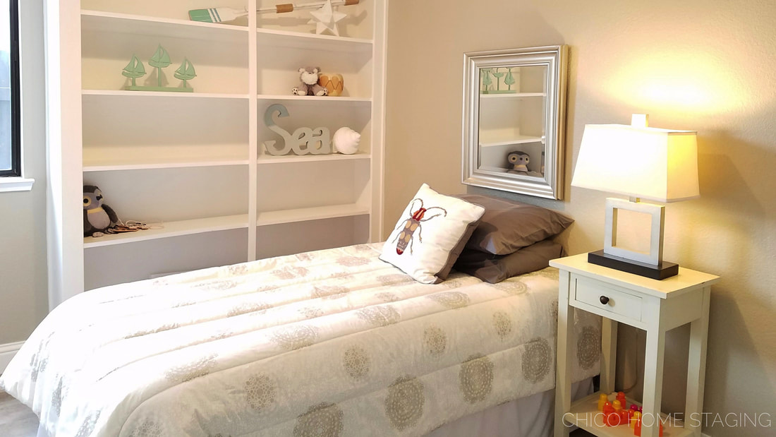 Chico Home Staging Bedroom